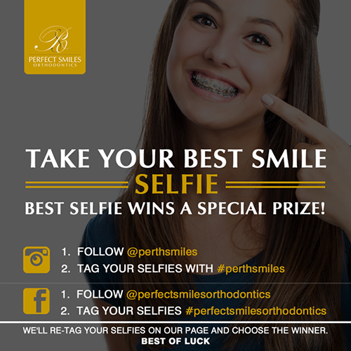 Take your best smile selfie